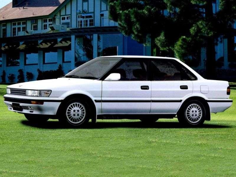 Toyota Sprinter E90sedan 1.5 3AT (1989–1991)