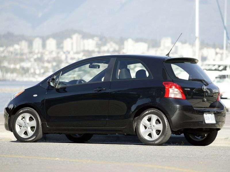 Toyota Yaris XP9RS hatchback 3 dv. 1.5 AT (2007–2009)