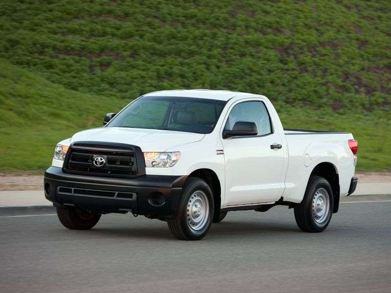 Toyota Tundra 2nd generation [restyled] Regular Cab pickup 2 bit. 5.7 AT (2009 – n. In.)