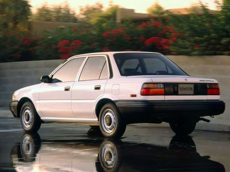 Toyota Corolla E90sedan 4 dv. 1.5 AT (1987–1989)