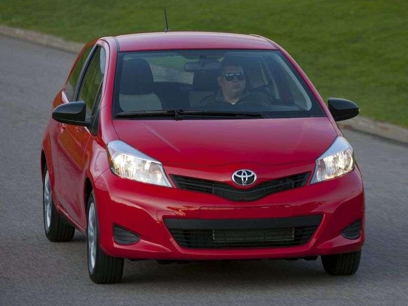 Toyota Yaris Uhetchbek 3 dv. 1.4 D 4D MT (2011 – present century.)