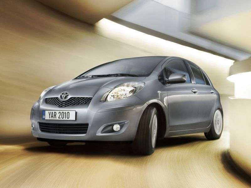 Toyota Yaris XP9 [restyling] hatchback 5 dv. 1.4 D 4D MT (2009–2012)