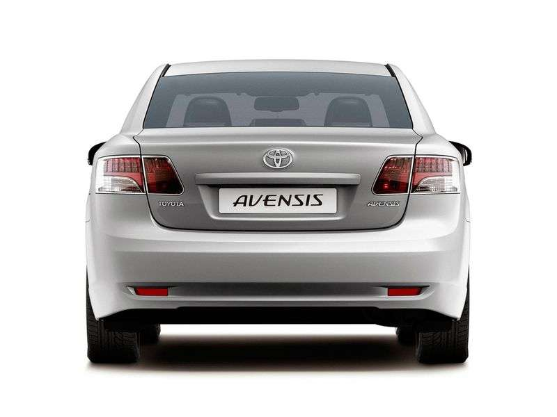 Toyota Avensis 3 generation sedan 1.8 MT Prestige (2009–2011)