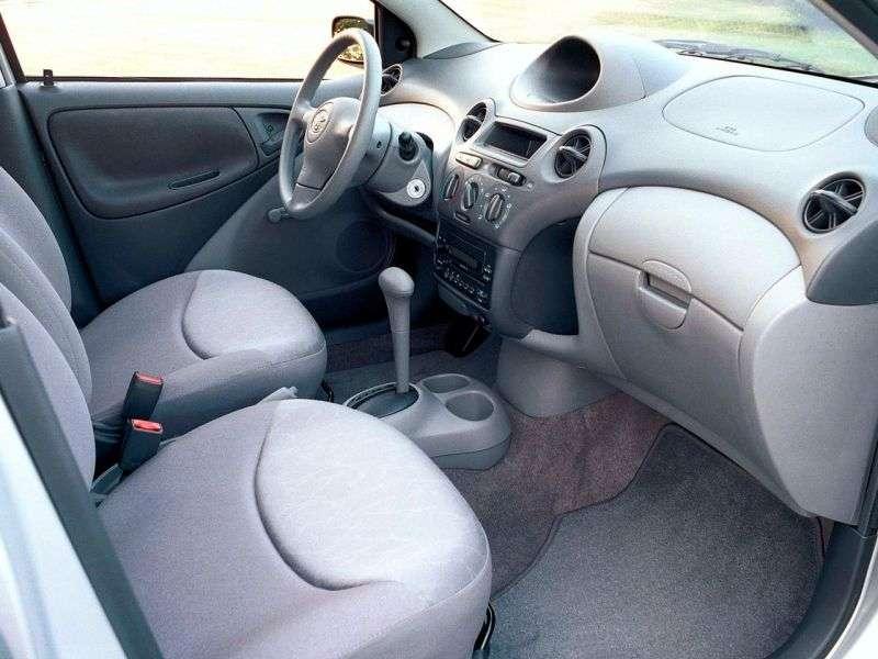 Toyota Yaris P1 [restyling] 1.5 MT sedan (2003–2005)