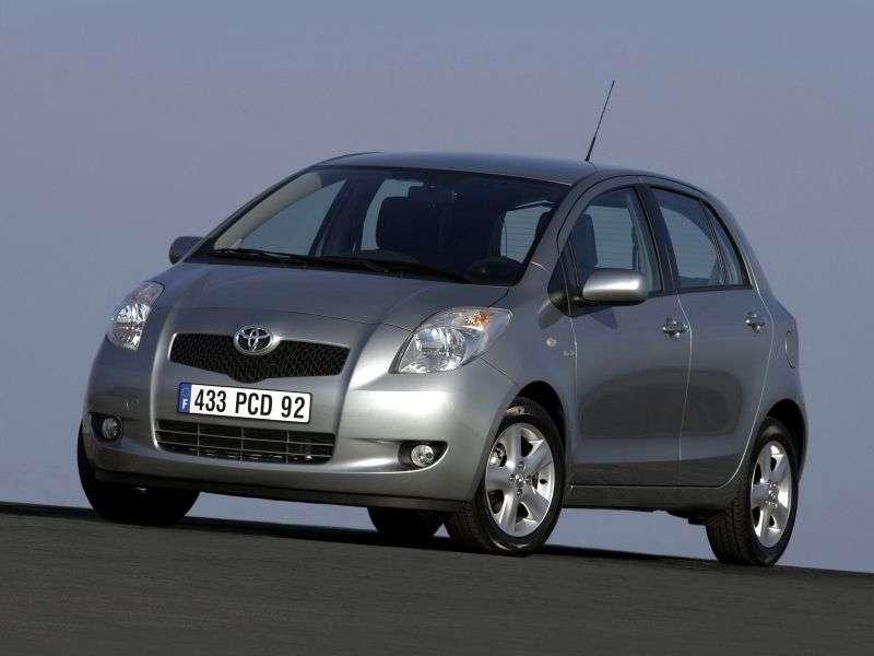 Toyota Yaris XP9hetchbek 5 dv. 1.4 D 4D AT (2005–2009)