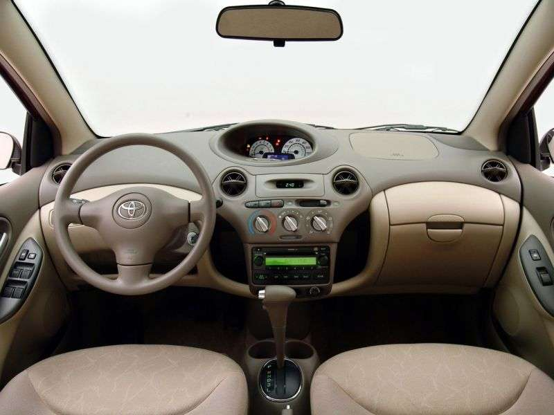 Toyota Yaris P1 [restyling] sedan 1.5 AT (2003–2005)