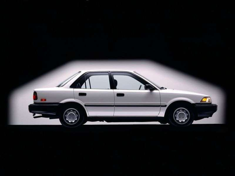 Toyota Corolla E90 4 drzwiowy sedan 1.6 AT Overdrive 4WD (1989 1989)