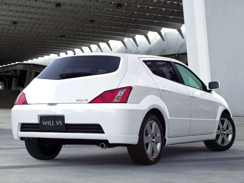 Toyota Will VS hatchback 1.generacji 1.5 AT (2002 2004)