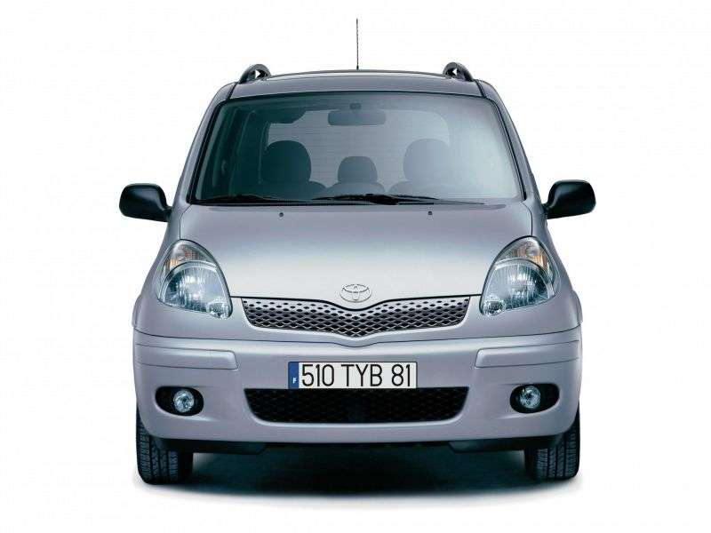 Toyota Yaris Verso 1st generation [restyled] minivan 1.3 AT (2003–2006)