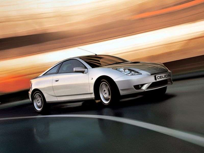 Toyota Celica 7th generation [restyling] coupe 1.8 VT i AT (2002–2006)