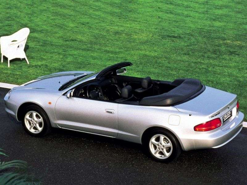 Toyota Celica 6th generation convertible 2.0 MT (1993–1999)