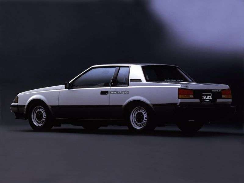 Toyota Celica 3rd generation coupe 1.6 MT (1981–1983)