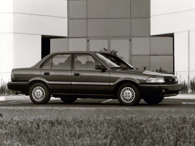 Toyota Corolla E90sedan 4 dv. 1.6 AT (1990–1991)