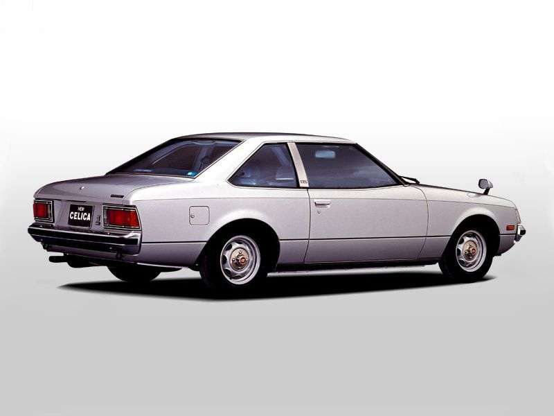 Toyota Celica 2nd generation coupe 1.6 MT (1978–1979)