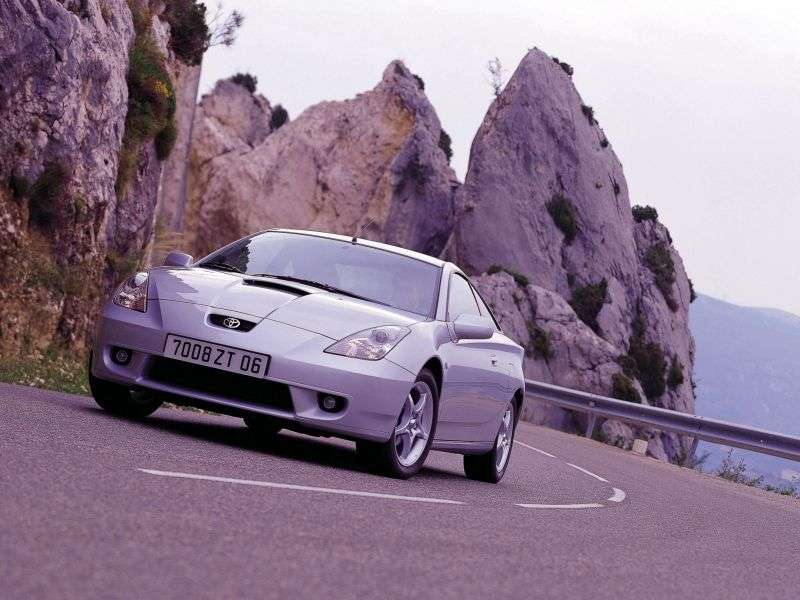 Toyota Celica 7 generation coupe 1.8 VVTL   i Sport AT (2001–2002)
