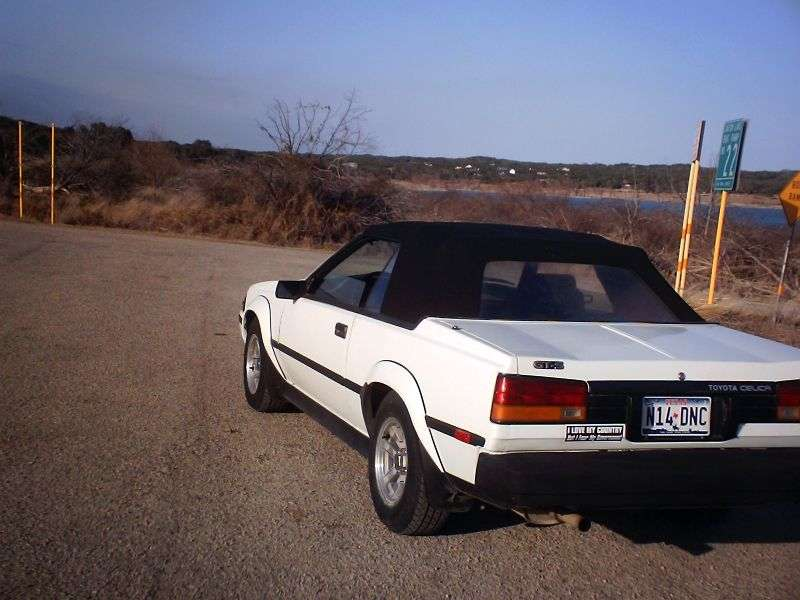 Toyota Celica 3rd generation convertible 2.0 GTS MT (1982–1985)