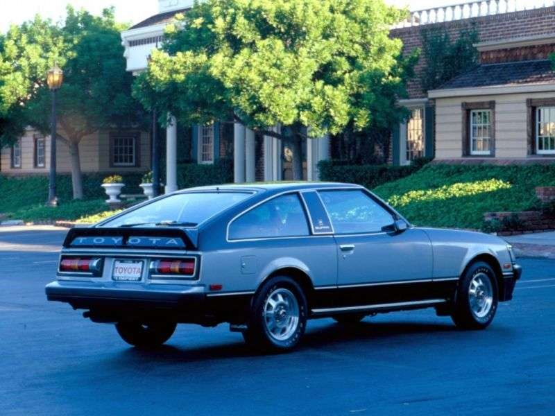 Toyota Celica 2nd generation [restyling] liftback 2.6 MT (1979–1981)