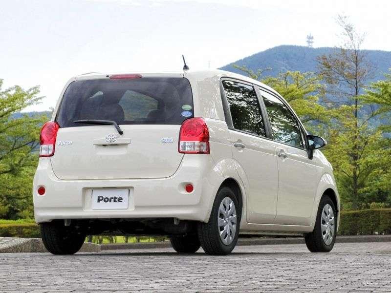 Toyota Porte 2nd generation minivan 1.5 CVT 4WD (2012 – n.)