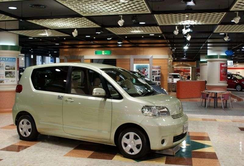 Toyota Porte 1st generation [restyled] minivan 1.5 AT (2005–2011)