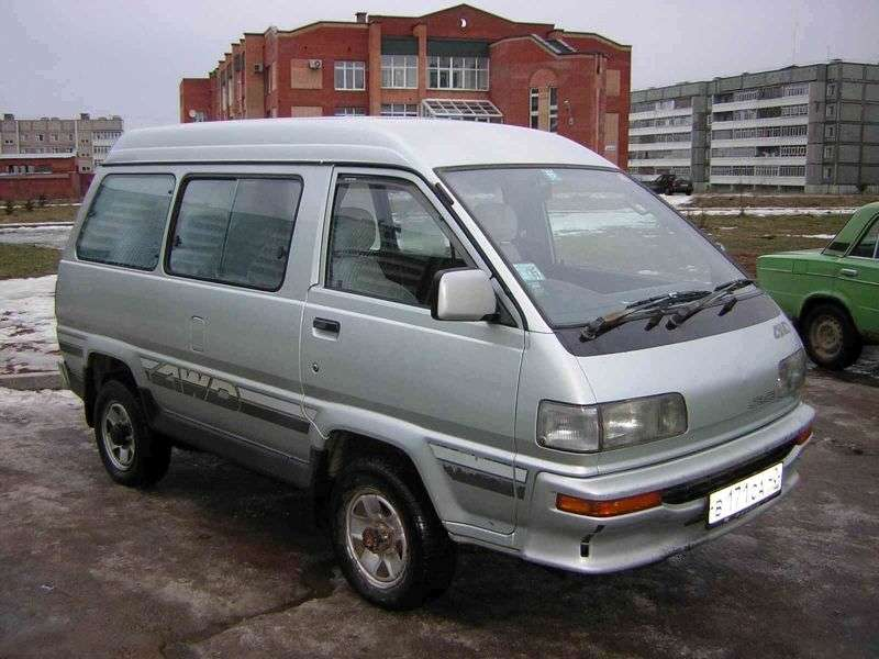 Toyota Lite Ace 3rd generation [restyled] minivan 2.0 TD MT AWD high roof (1990–1992)