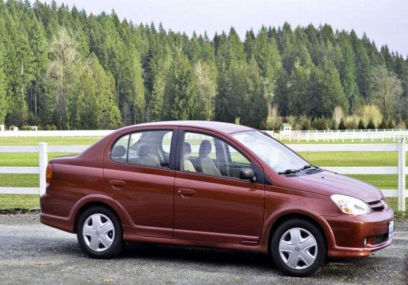 Toyota Echo 1st generation [restyling] 1.5 MT Overdrive sedan (2003–2005)
