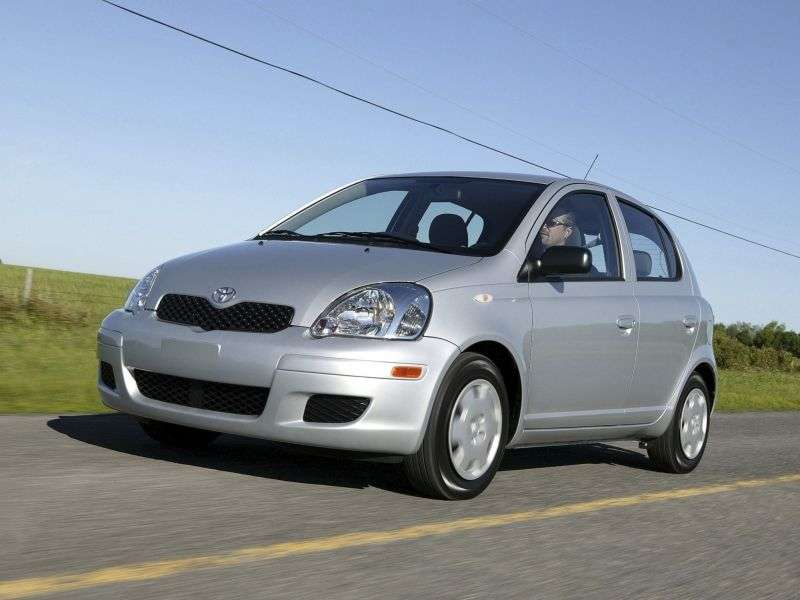 Toyota Echo 1st generation [restyling] 5 bit hatchback 1.5 AT (2003–2005)