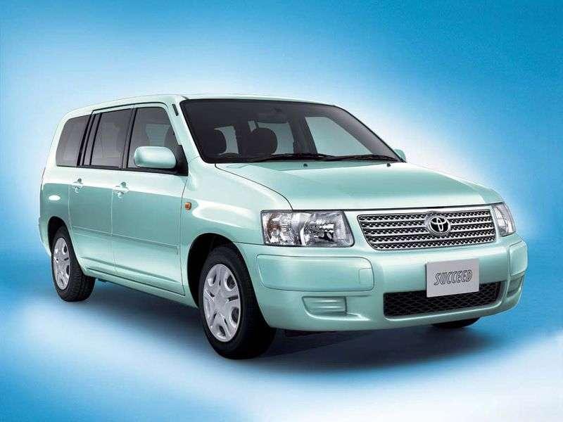 Toyota Succeed 1st generation wagon 1.5 AT Van (2002 – n.)