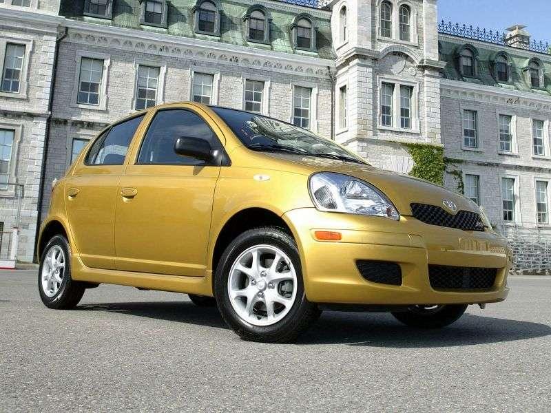 Toyota Echo 1st generation [restyling] 5 bit hatchback 1.3 AT (2003–2005)