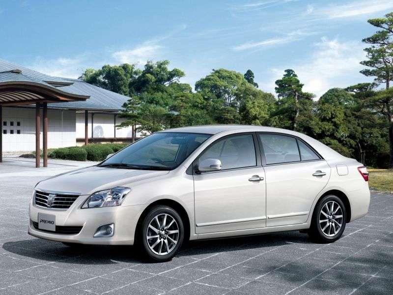 Toyota Premio 2nd generation [restyling] 1.8 CVT sedan 4WD (2010 – n.)