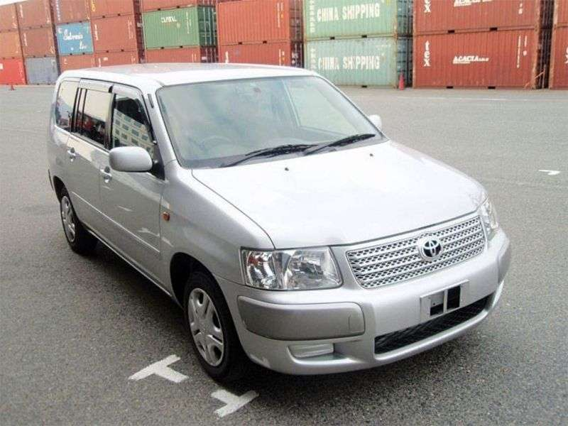 Toyota Succeed 1st generation wagon 1.5 AT 4WD Van (2002 – n. In.)