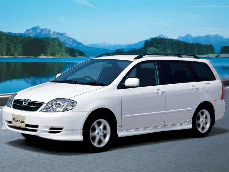 Toyota Corolla E120Fielder wagon 5 bit. 2.2 D AT (2000–2004)