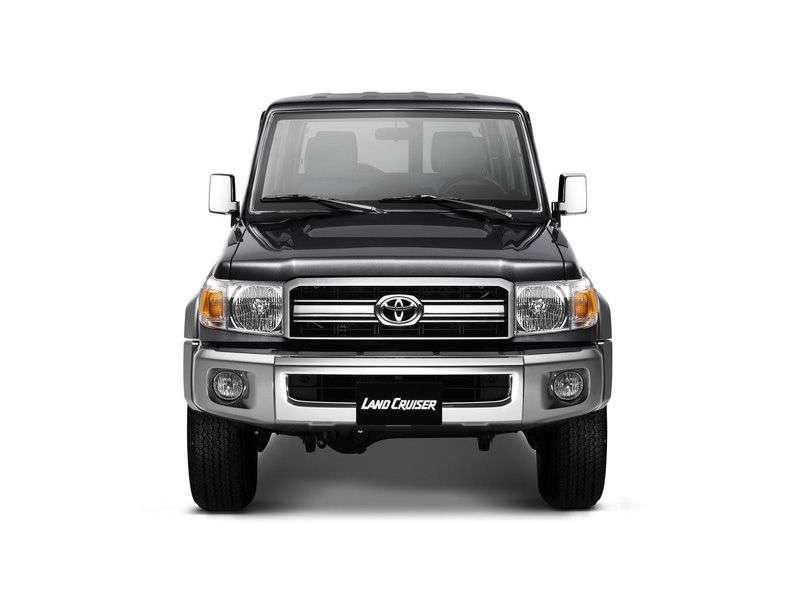 Toyota Land Cruiser J70 [3rd restyling] J76 SUV 5 dv. 4.5 V8 TD MT (2007 – present)