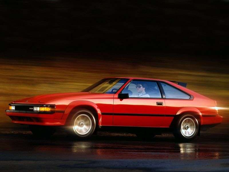 Toyota Supra Mark II [restyled] coupe 2.8 AT Overdrive (1984–1986)