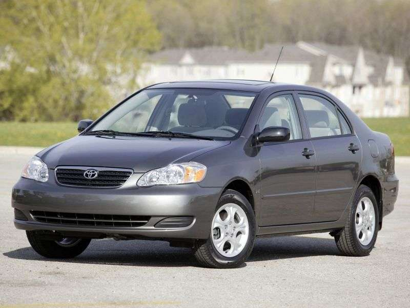 Toyota Corolla E120US Spec. 4 door sedan 1.8 6MT Overdrive (2004–2005)