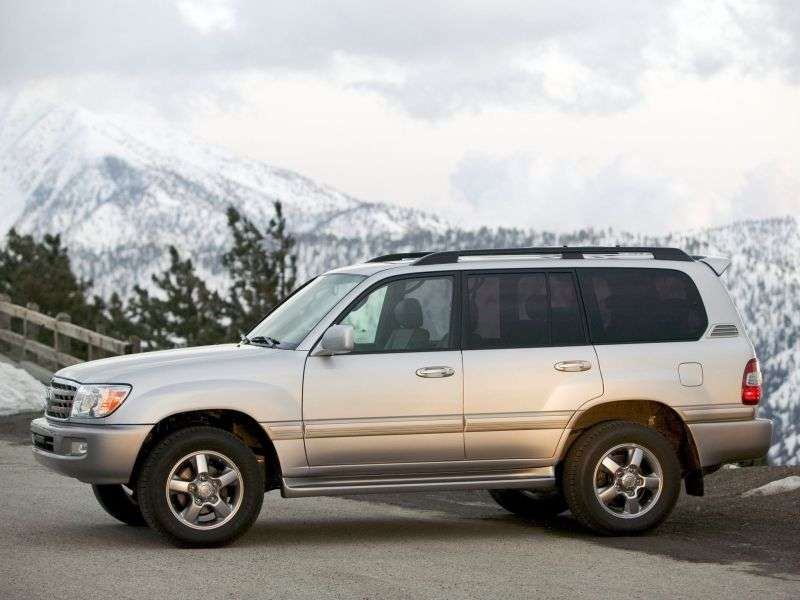 Toyota Land Cruiser J100 [2nd restyling] 4.2 TD MT (2005–2007) SUV