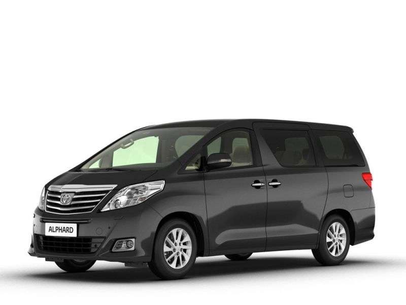Toyota Alphard 2nd generation [restyled] minivan 3.5 AT Suite (2011 – n.)