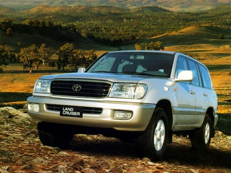 Toyota Land Cruiser J100 SUV 4.5 AT (1998–2002)