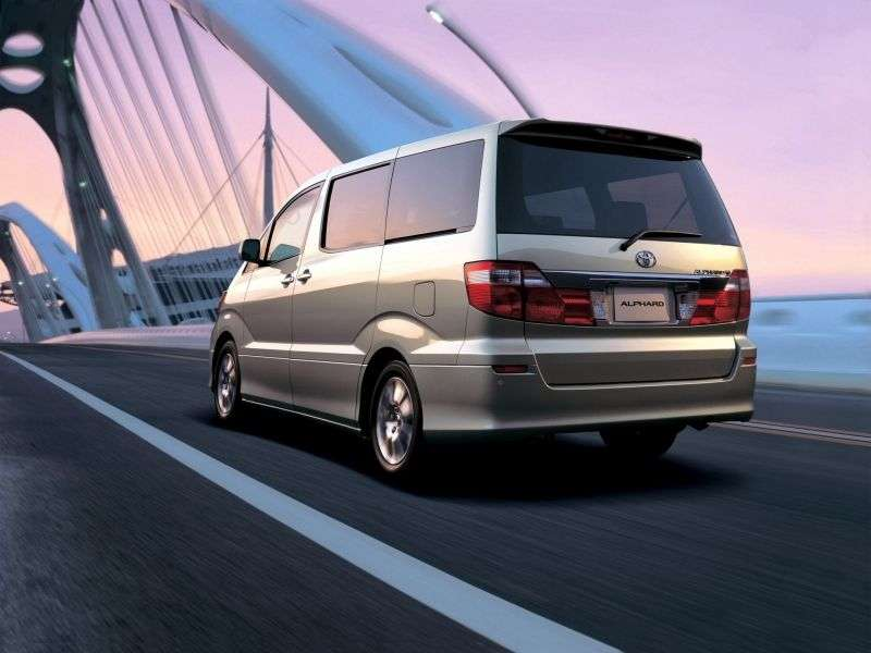 Toyota Alphard 1st generation 5 door minivan 3.0 AT (2002–2004)