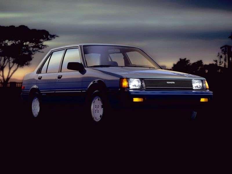 Toyota Corolla E80sedan 1.3 MT (1983–1987)