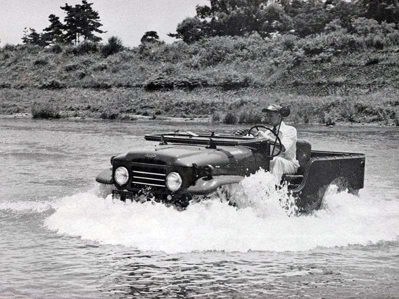 Toyota Land Cruiser J20 cabrio 3.9 MT AWD (1955–1960)