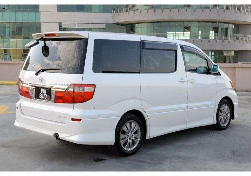 Toyota Alphard 1st generation 5 door minivan 2.4 AT (2002–2004)