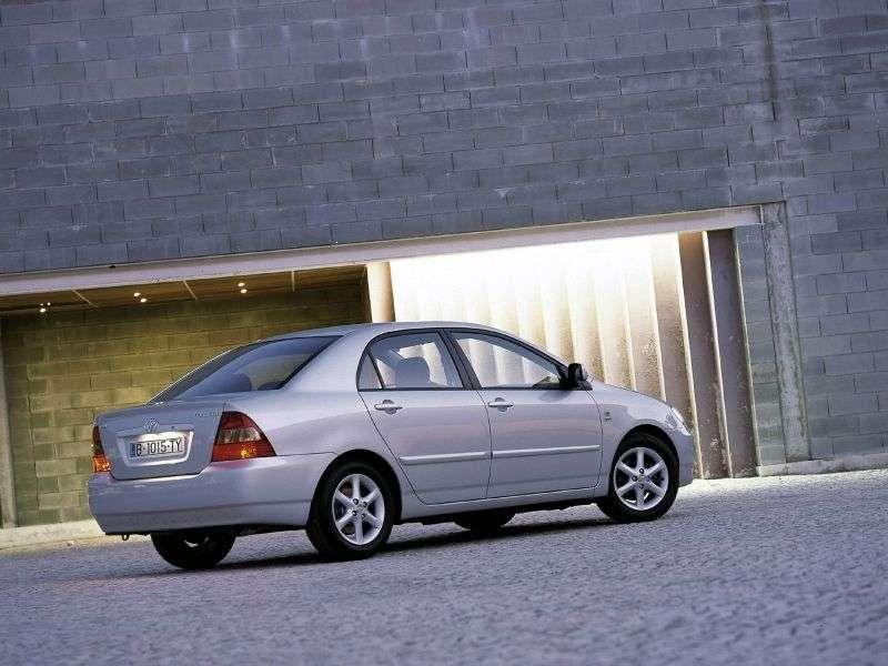 Toyota Corolla E120sedan 4 bit. 1.6 AT (2001–2004)