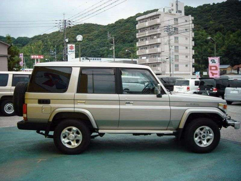 Toyota Land Cruiser J70 [2nd restyling] J76 SUV 5 dv. 4.2 D AT (2000–2007)