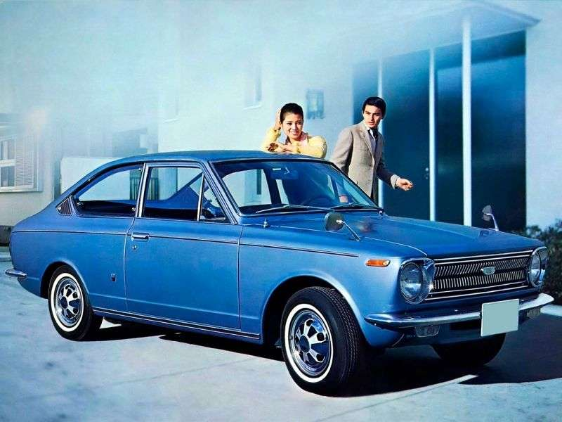 Toyota Corolla E10Sprinter Coupe 1.1 Synchromesh (1968–1970)
