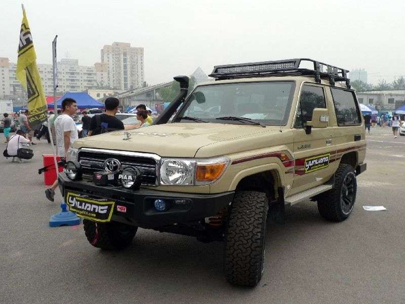 Toyota Land Cruiser J70 [3rd restyling] J71 SUV 3 dv. 4.2 D MT (2009 – n. In.)