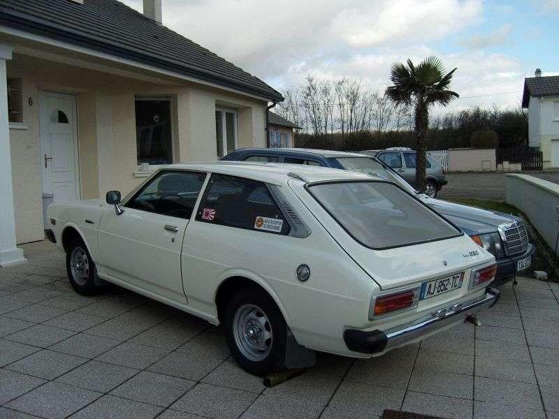 Toyota Corolla E50 [restyling] liftback 1.3 MT (1978–1981)