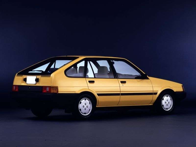 Toyota Corolla E80liftback 1.6 AT (1983–1985)