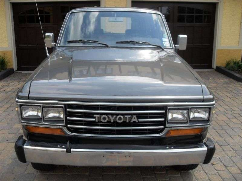Toyota Land Cruiser J60 [restyling] wagon 5 bit 4.0 AT J62G High Roof (1987–1990)