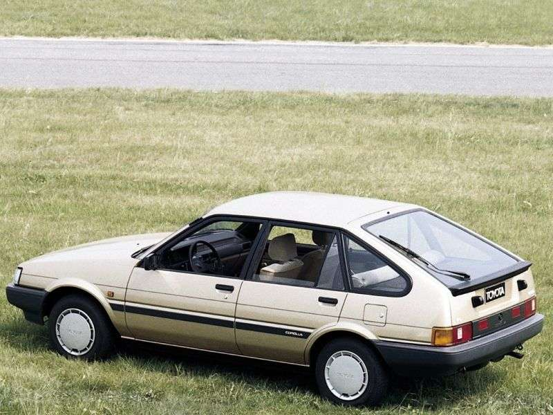 Toyota Corolla E80liftback 1.5 MT (1983–1987)