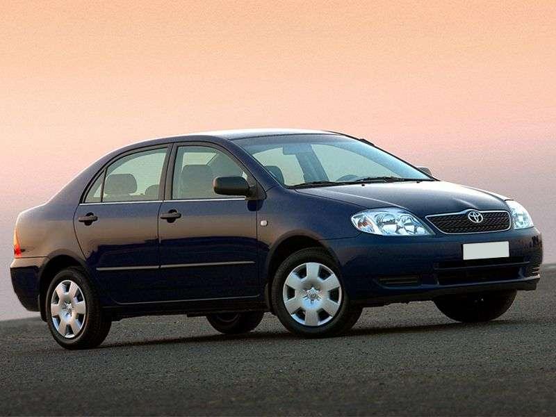 Toyota Corolla E120sedan 4 bit. 1.6 MT (2001–2004)